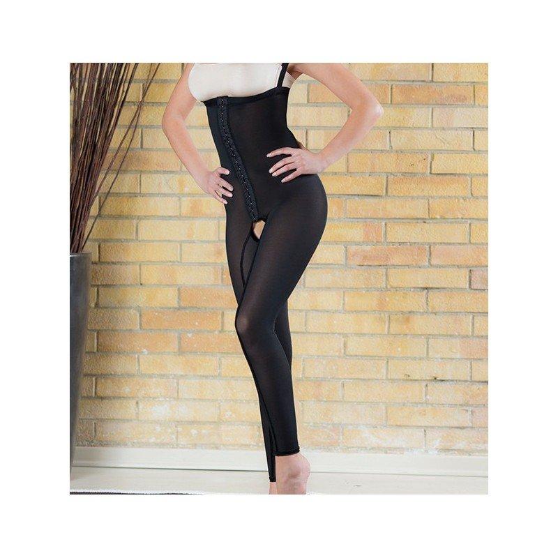 Liposuction compression garment girdle long ankle