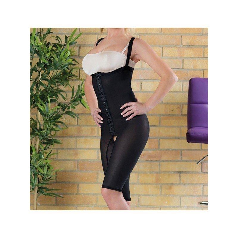Liposuction compression garment girdle above knee