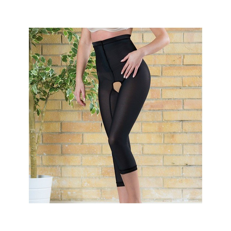 Liposuction compression garment panty under knee